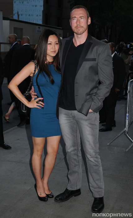 Кевин Дюран с женой