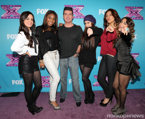 Саймон Коуэлл и группа Fifth Harmony