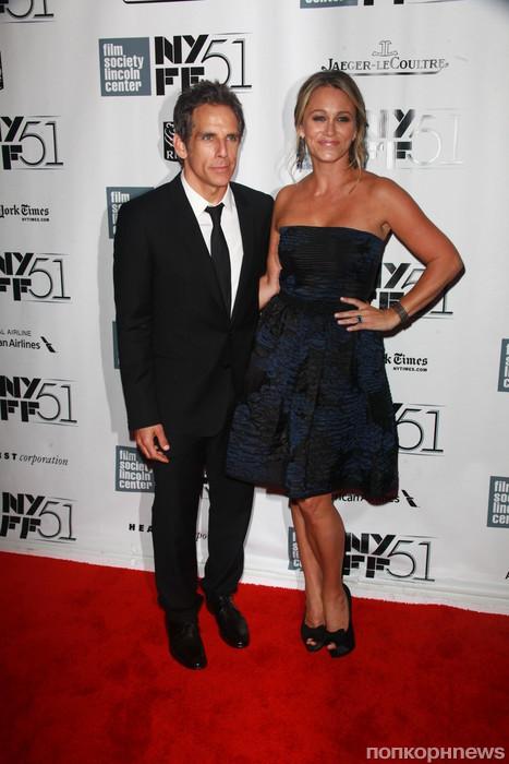Бен Стиллер с женой