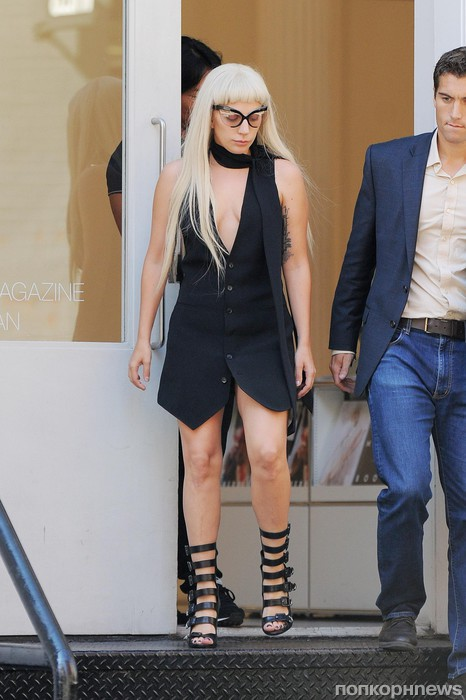 Lady GaGa замечена в Сохо