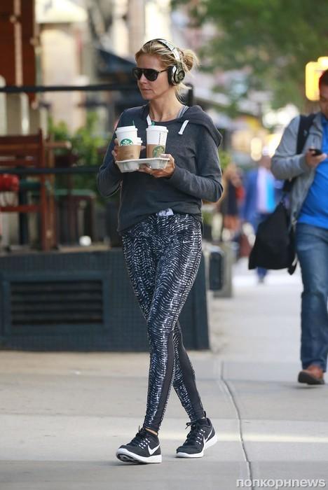 Хайди Клум зашла за кофе