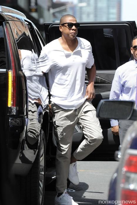 Jay-Z замечен в Нью-Йорке