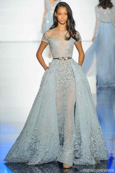292e04039ee Модный показ новой коллекции Zuhair Murad Haute Couture. Весна ...
