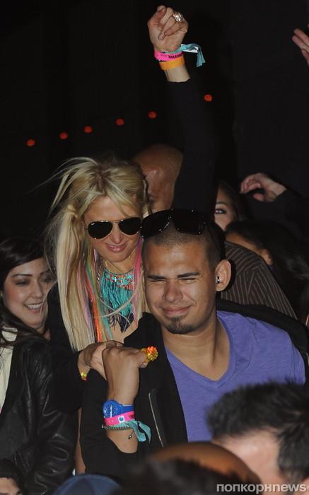 Пэрис Хилтон и её бойфренд DJ Afrojack