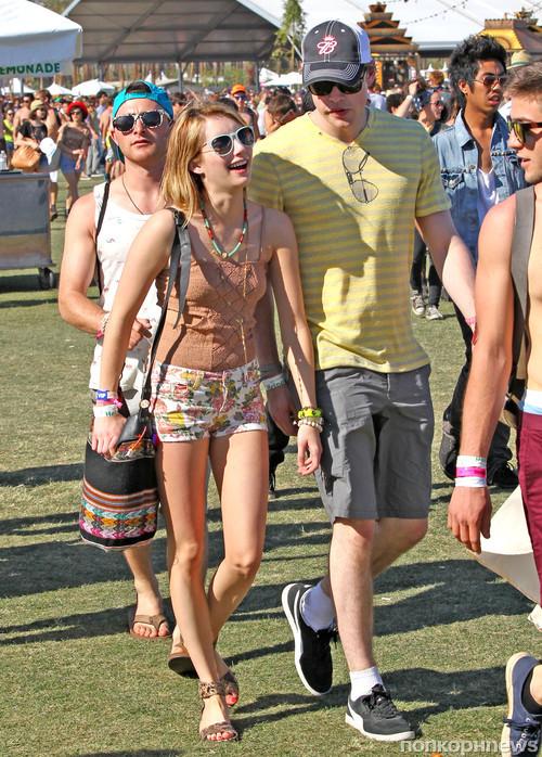 Эмма и Корд на фестивале Coachella 2012