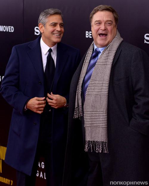 Джордж Клуни и Джон Гудман
