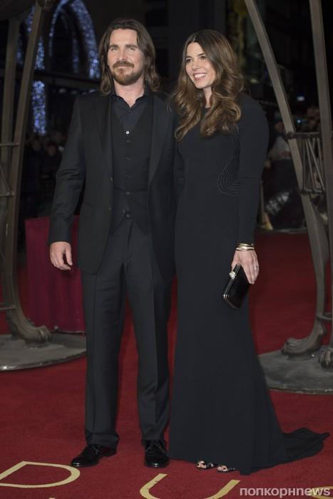 Кристиан Бэйл с женой