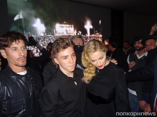 Стивен Кляйн и Мадонна с сыном Рокко