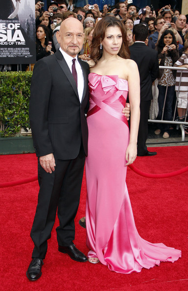 Бен Кингсли с женой