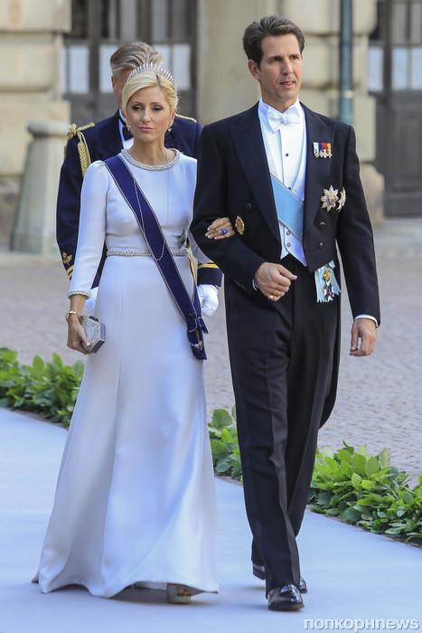Наследный принц Греции Павлос и Наследная принцесса Греции Мария-Шанталь