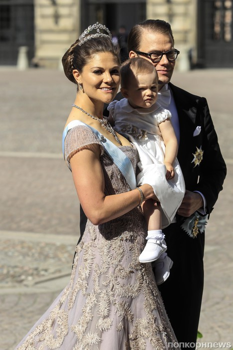 принцесса Виктория, принцесса Эстель и принц Даниэль