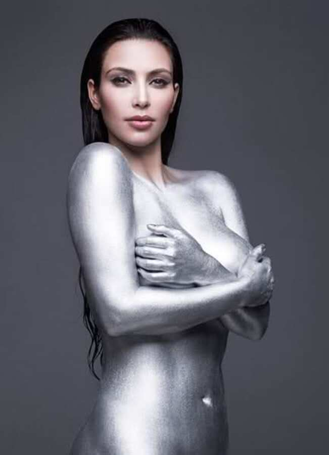 Ким Кардашиан изменила мнение о своих фотографиях в журнале W