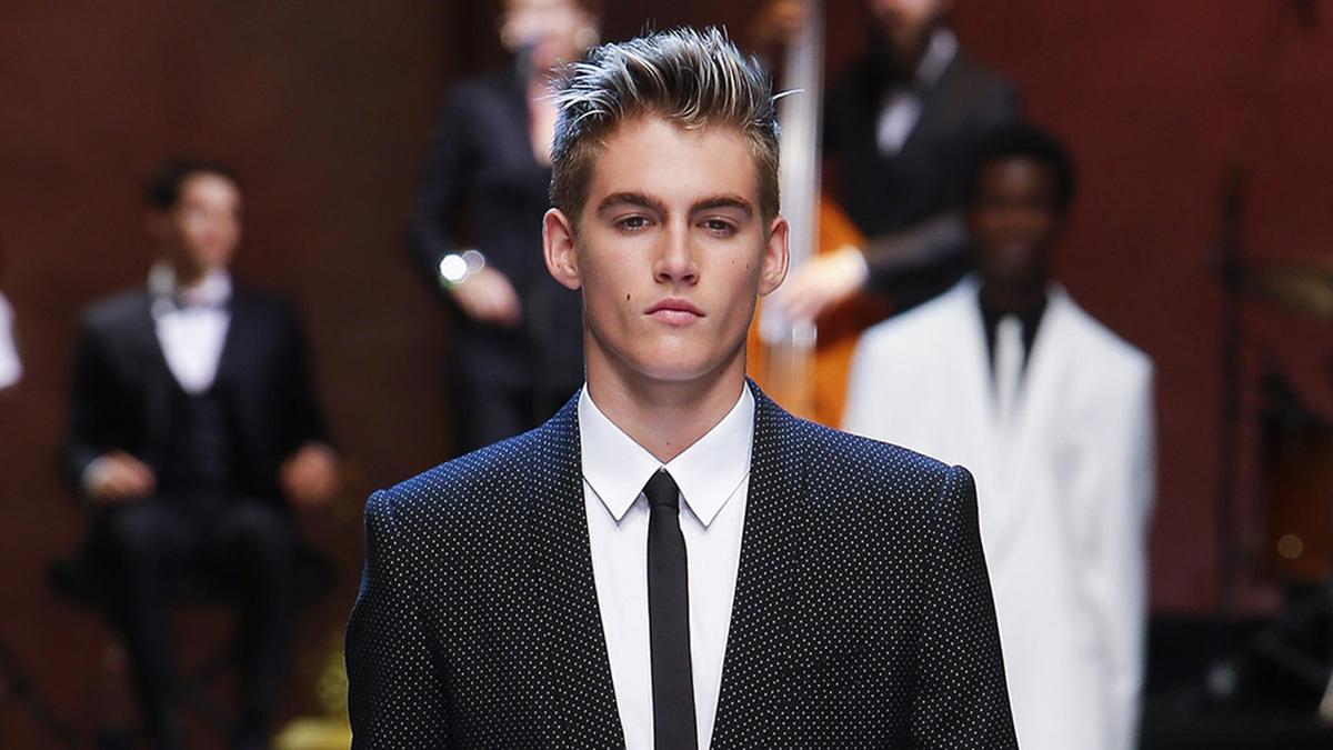 Сыновья Джуда Лоу и Синди Кроуфорд поучаствовали в показе Dolce & Gabbana