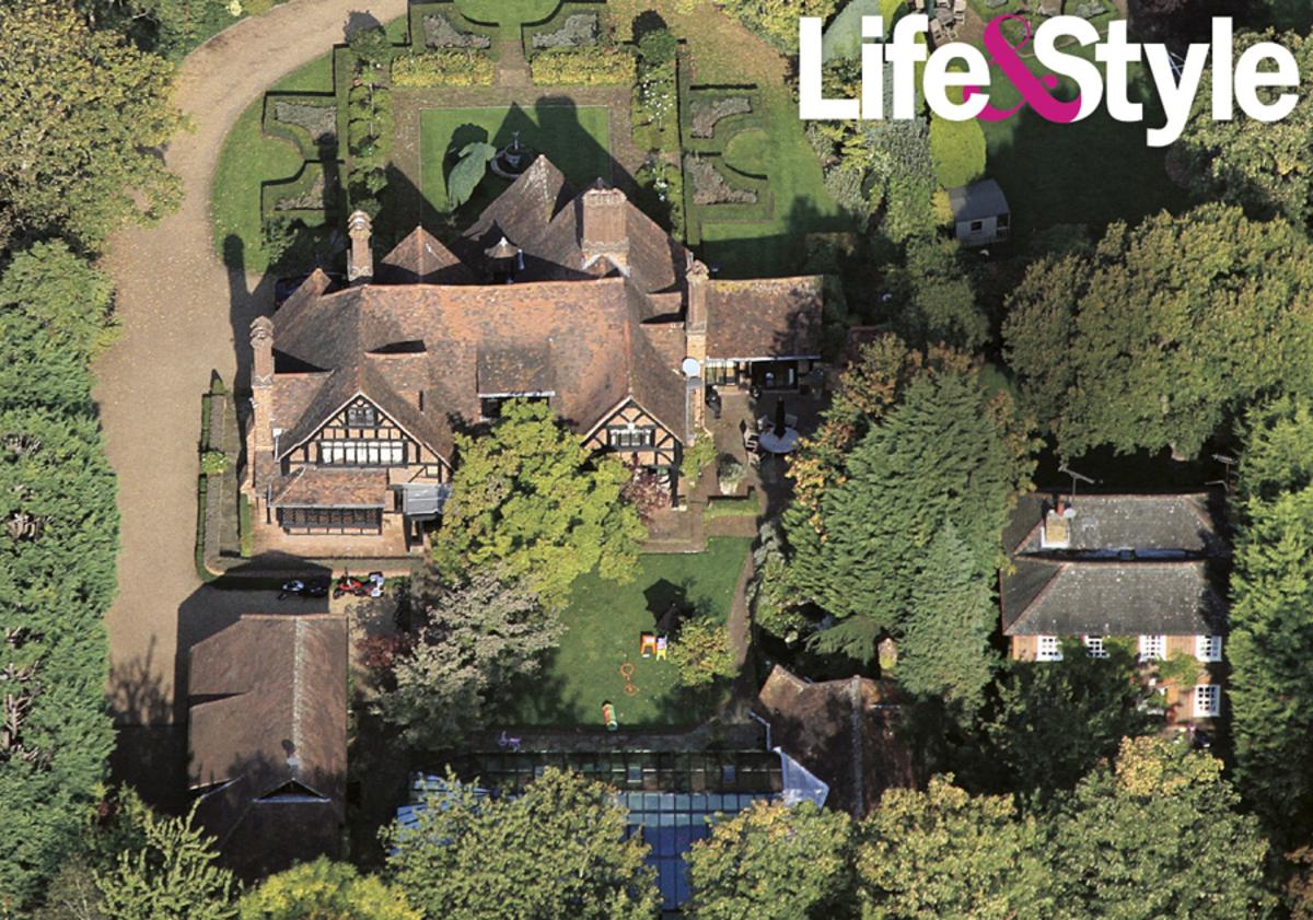 Лондонский дом Анджелины Джоли и Брэда Питта
