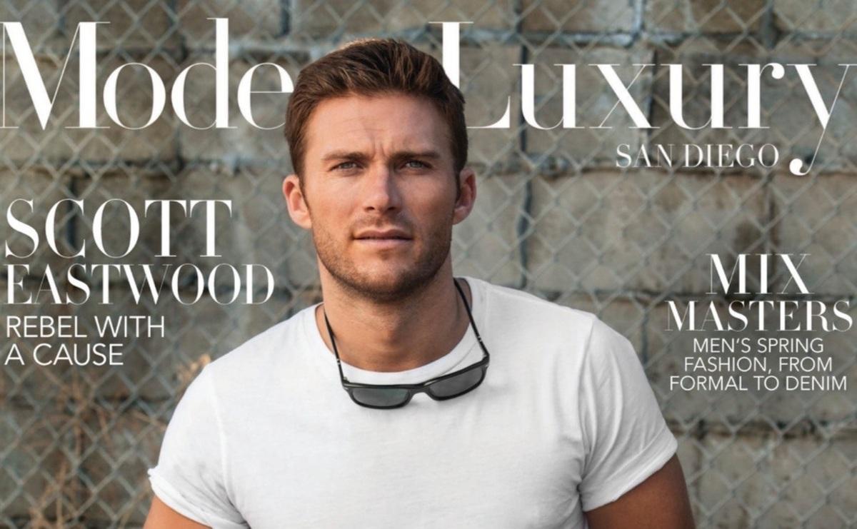 Скотт Иствуд снялся в фотосете для апрельского Modern Luxury