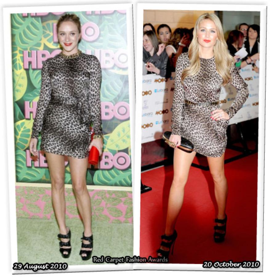 Fashion Battle: Хлое Севиньи и Алекс Каррэн