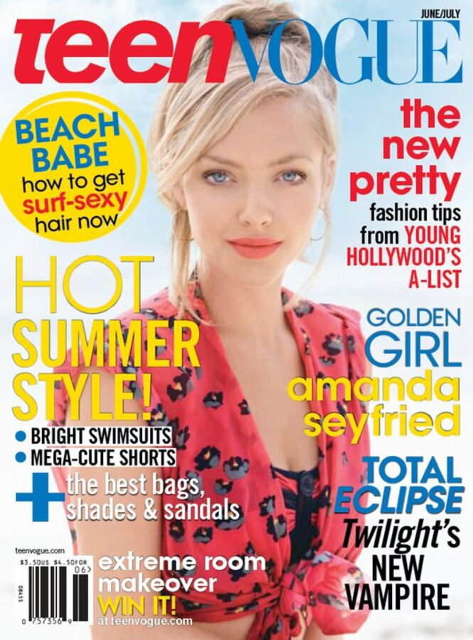 Аманда Сейфрид в журнале Teen Vogue + фото со съемок
