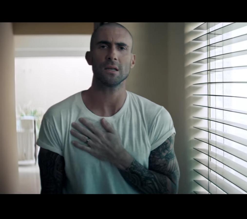 Адам Левин и R. City представили новый клип -  Locked Away