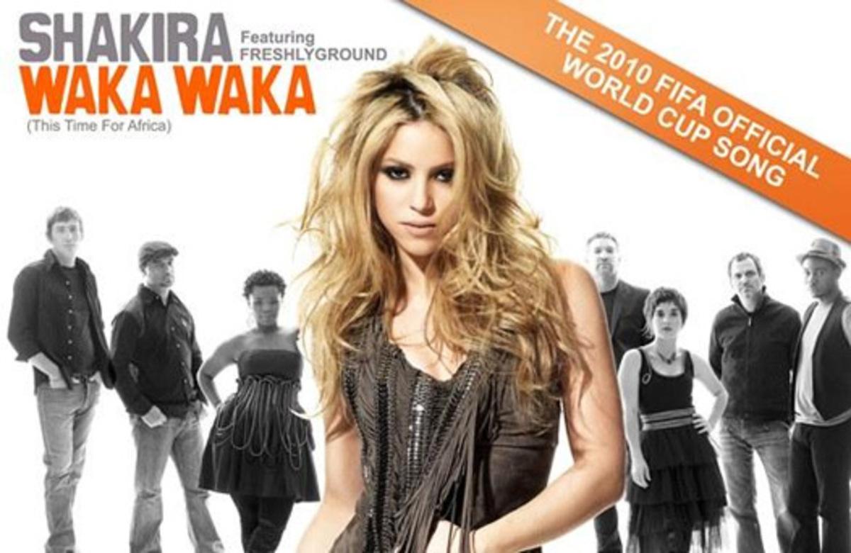 Шакира представила песню для Чемпионата мира по футболу