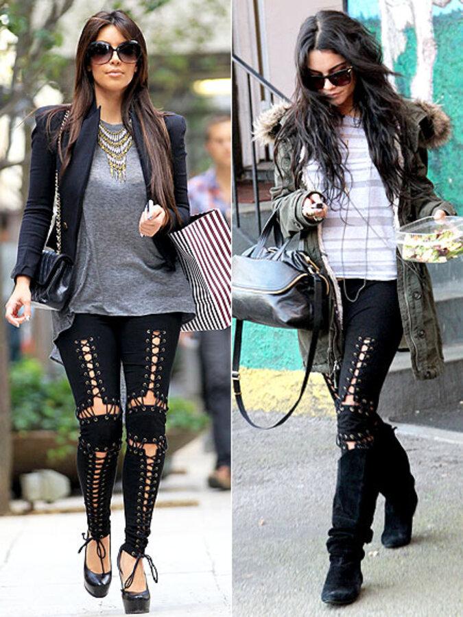 Fashion Battle: Ким Кардашиан и Ванесса Хадженс