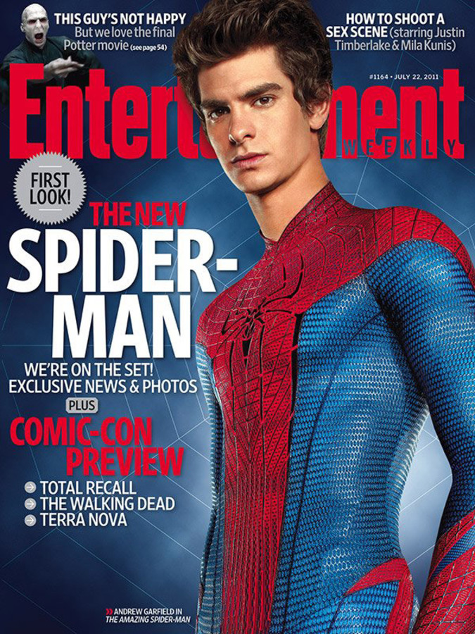 Новый человек-паук в журнале Entertainment Weekly