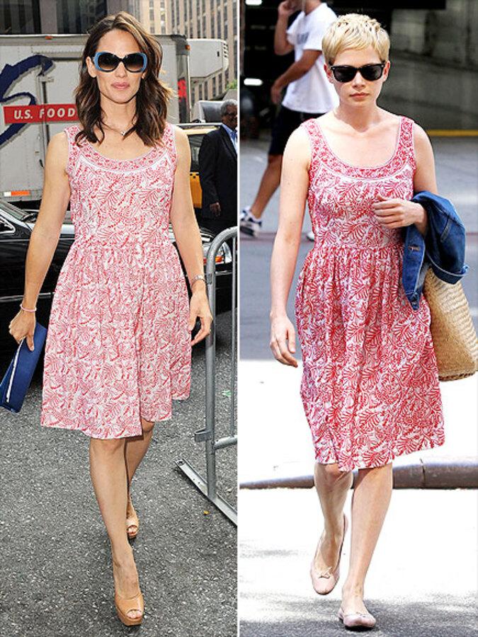 Fashion Battle: Дженнифер Гарнер и Мишель Уильямс