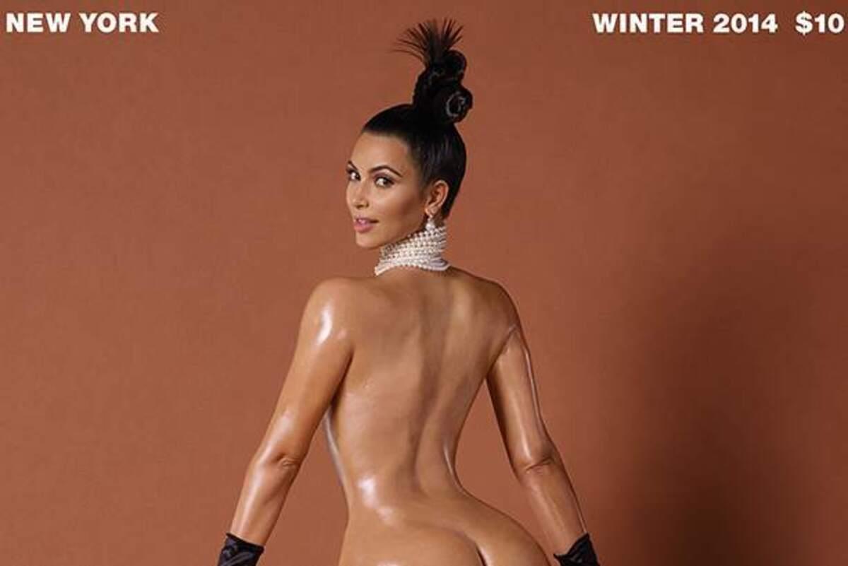 Достоинство напоказ: обнаженная Ким Кардашян на обложке журнала Paper. Зима 2015
