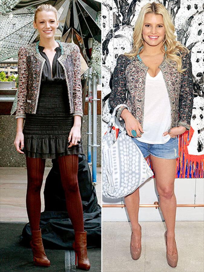 Fashion Battle: Блэйк Лайвли и Джессика Симпсон