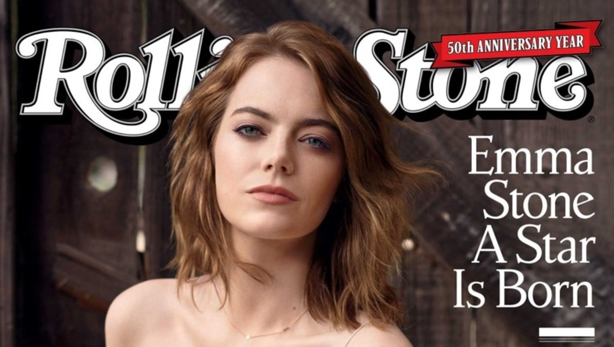 Эмма Стоун украсила обложку Rolling Stone