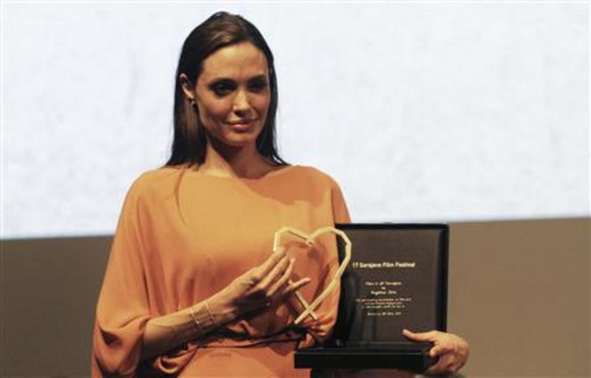 Анджелина Джоли получила награду «Сердце Сараево»