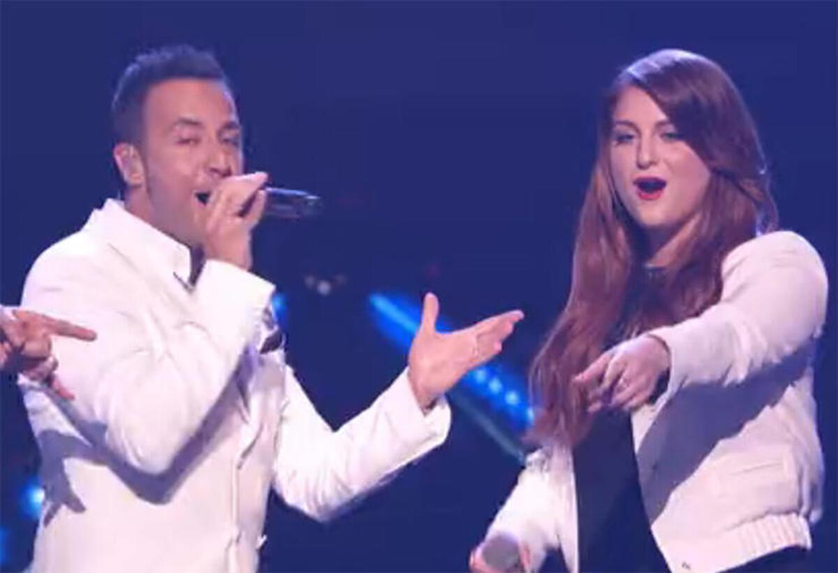 Меган Трейнор спела с Backstreet Boys