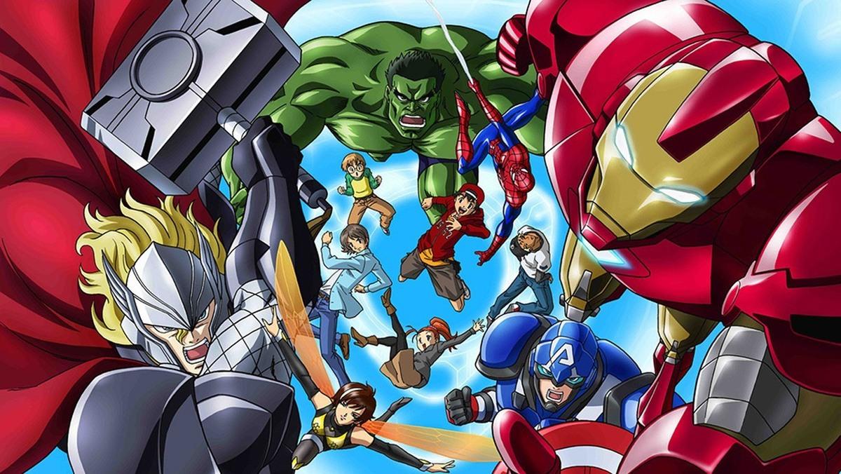 Marvel выпустит аниме по «Мстителям»