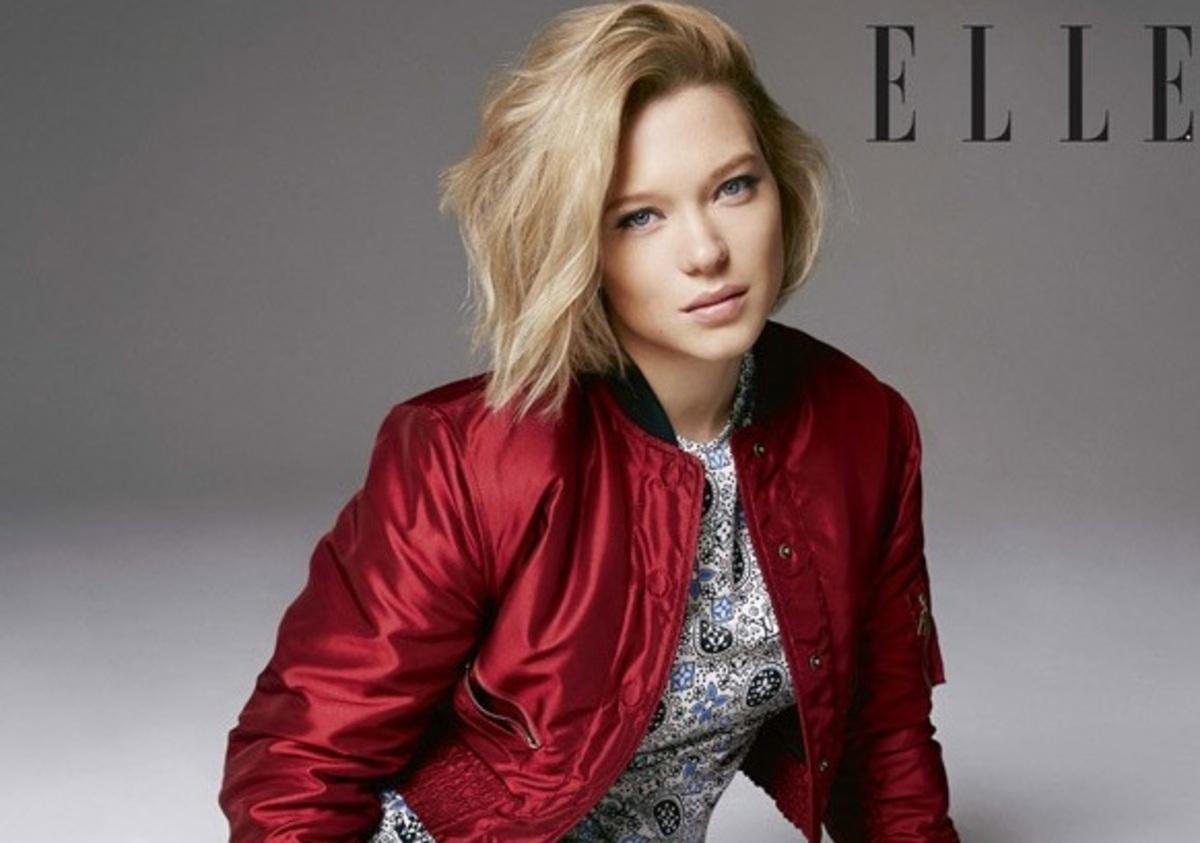 «Девушка Бонда» Леа Сейду в фотосете для Elle, июнь 2016