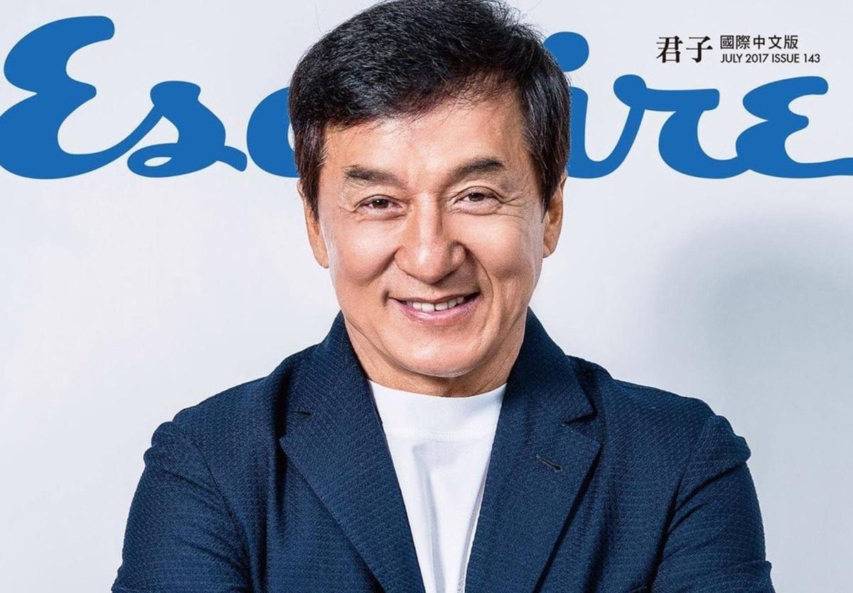 Джеки Чан стал главным героем нового номера Esquire