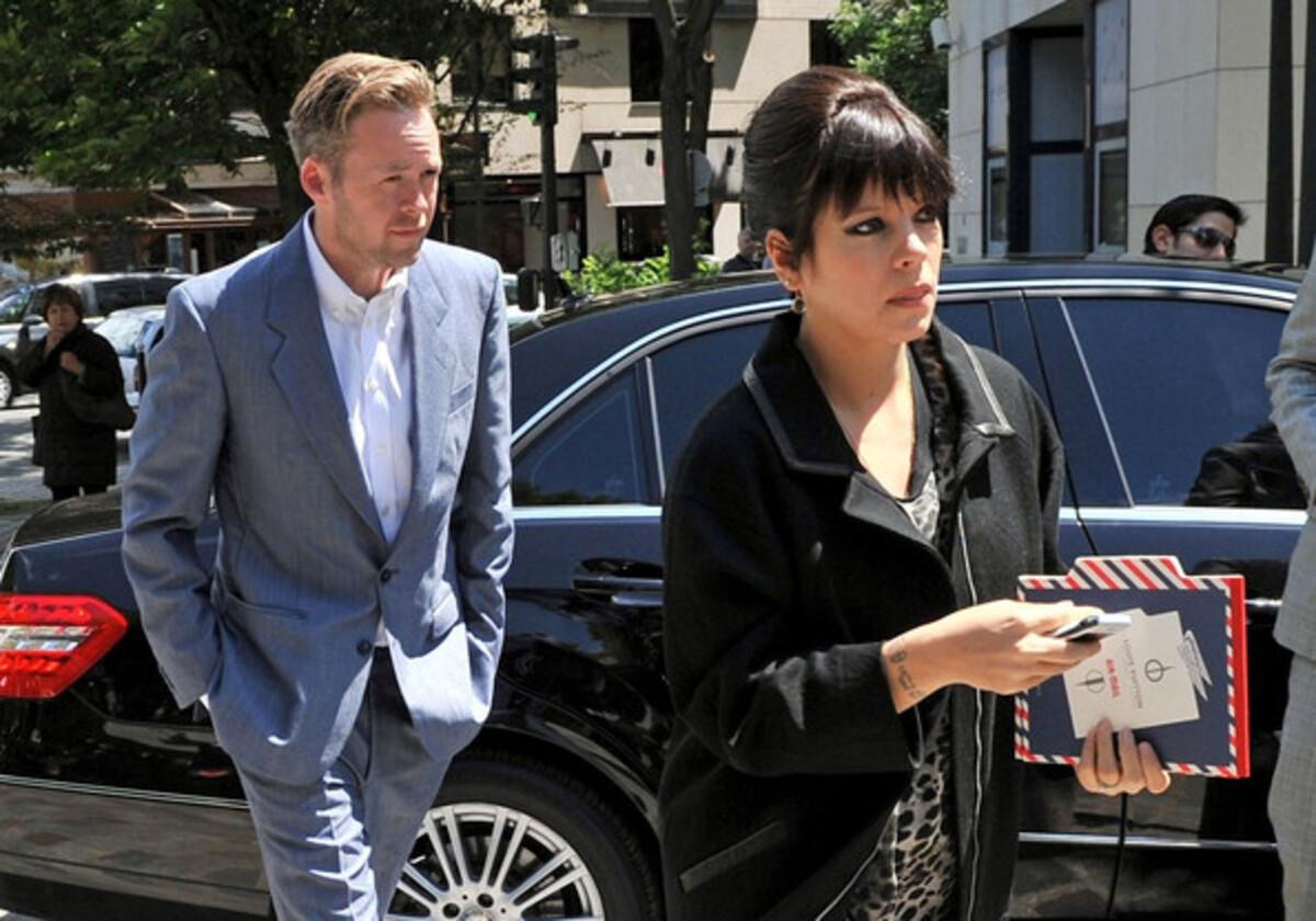 Лили Аллен на показе Louis Vuitton в Лондоне