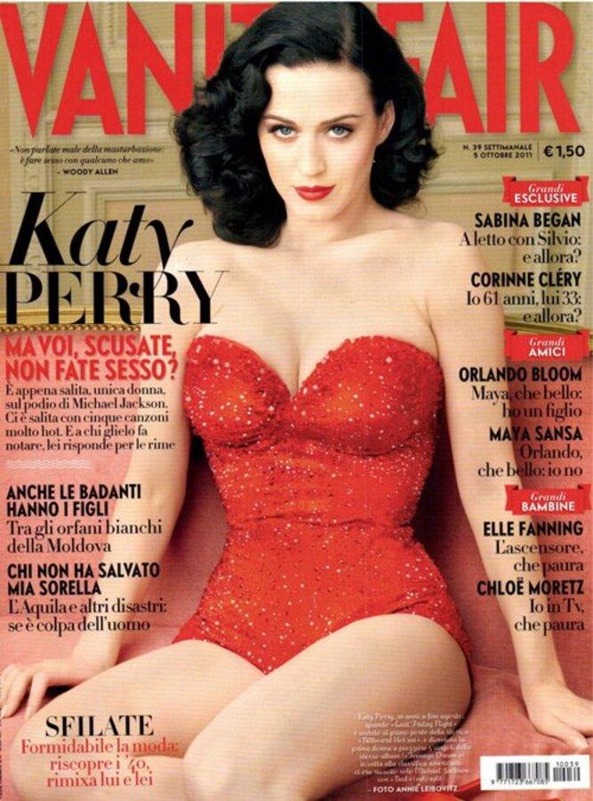 Кэти Перри в журнале Vanity Fair Италия. Ноябрь 2011
