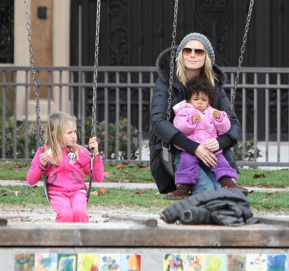 Счастливая семья Хайди Клум
