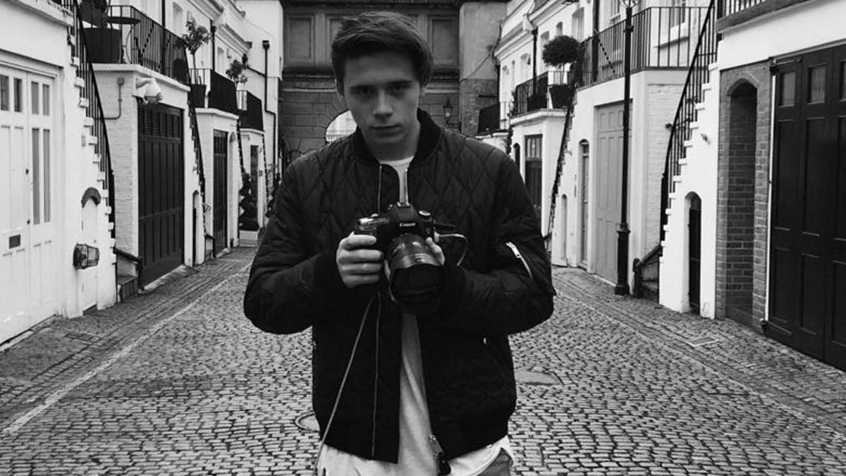 Бруклин Бекхэм выпустит книгу своих фотографий