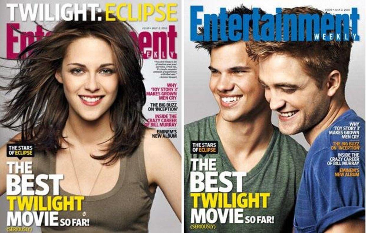 Сумеречные звезды в Entertainment Weekly
