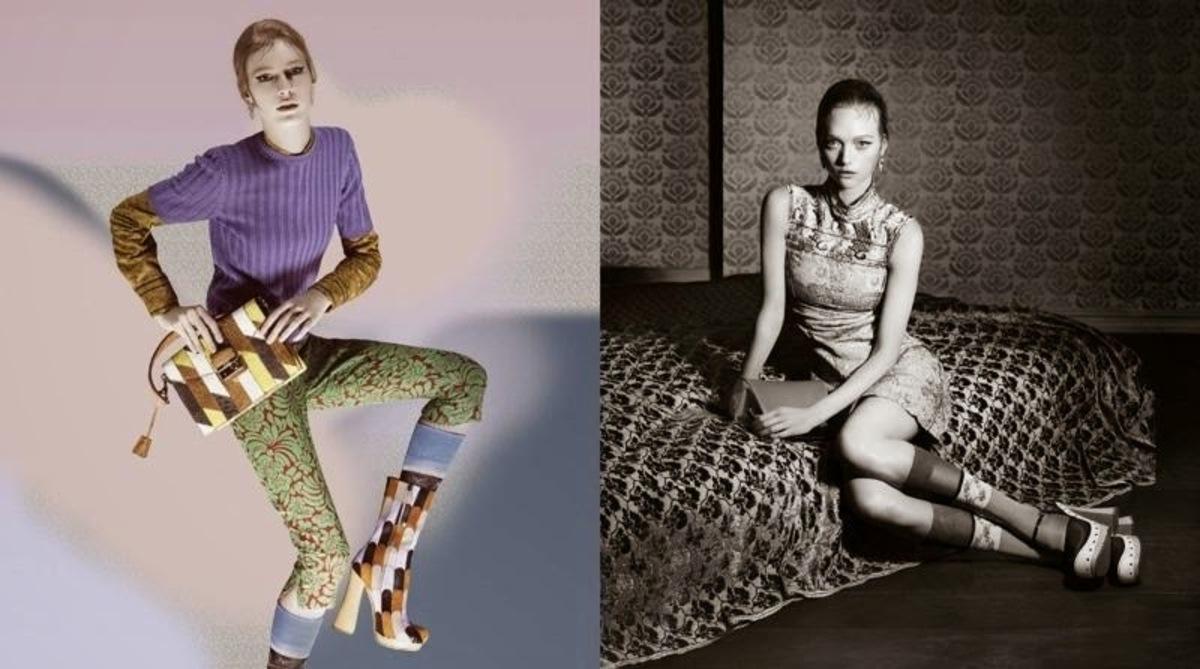 Новая рекламная кампания Prada. Весна / лето 2015