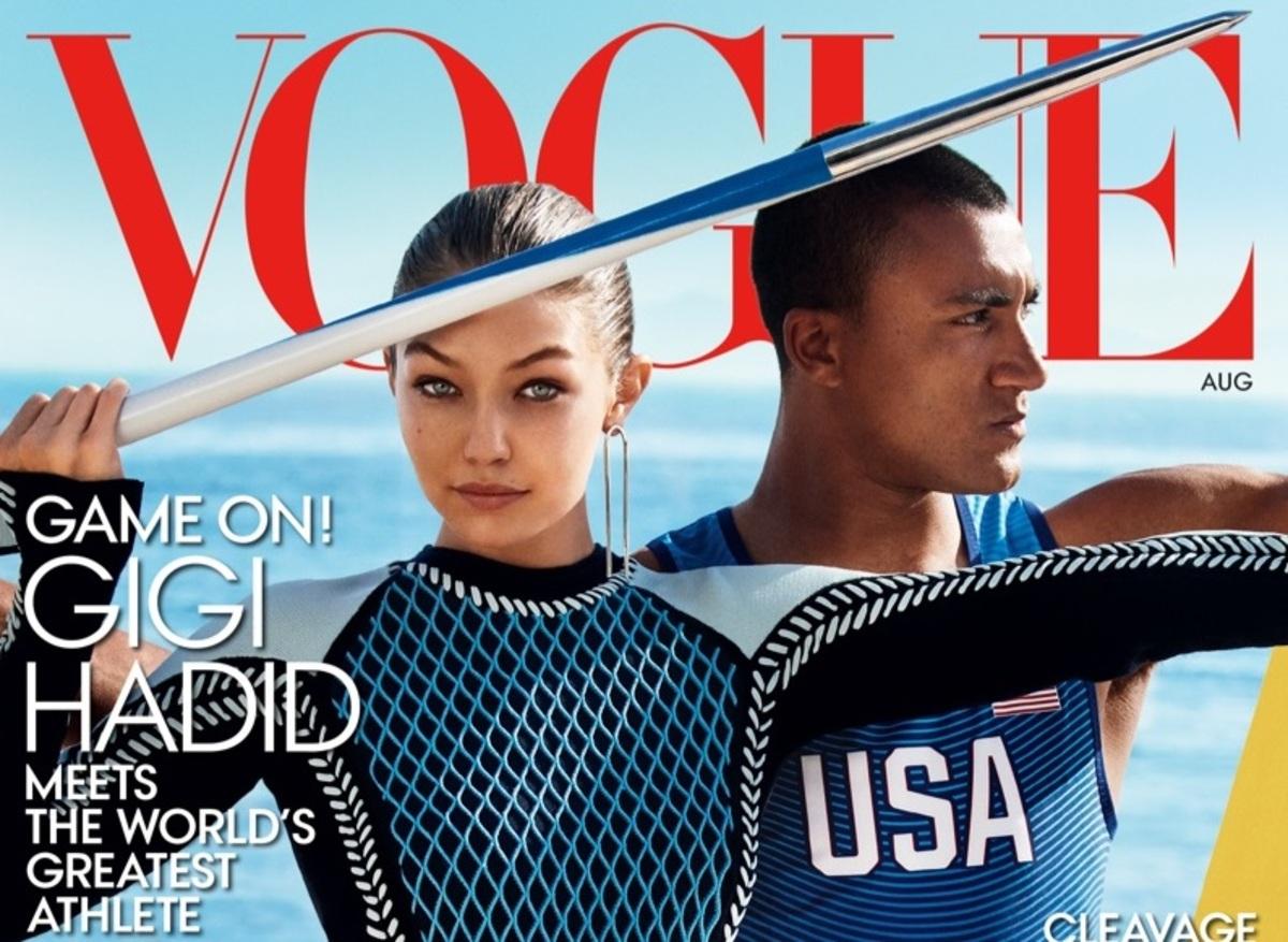 Джиджи Хадид впервые снялась для обложки Vogue