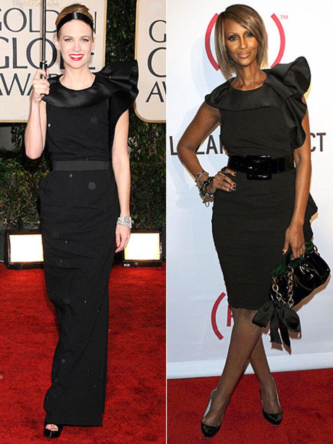 Fashion battle: Дженьюари Джонс и Иман