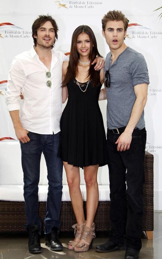 Актеры сериала «Дневники вампира» на ТВ фестивале в Монте-Карло