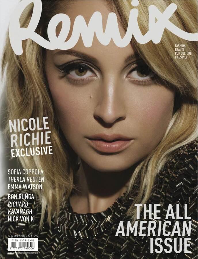 Николь Ричи в журнале Remix. Декабрь 2010