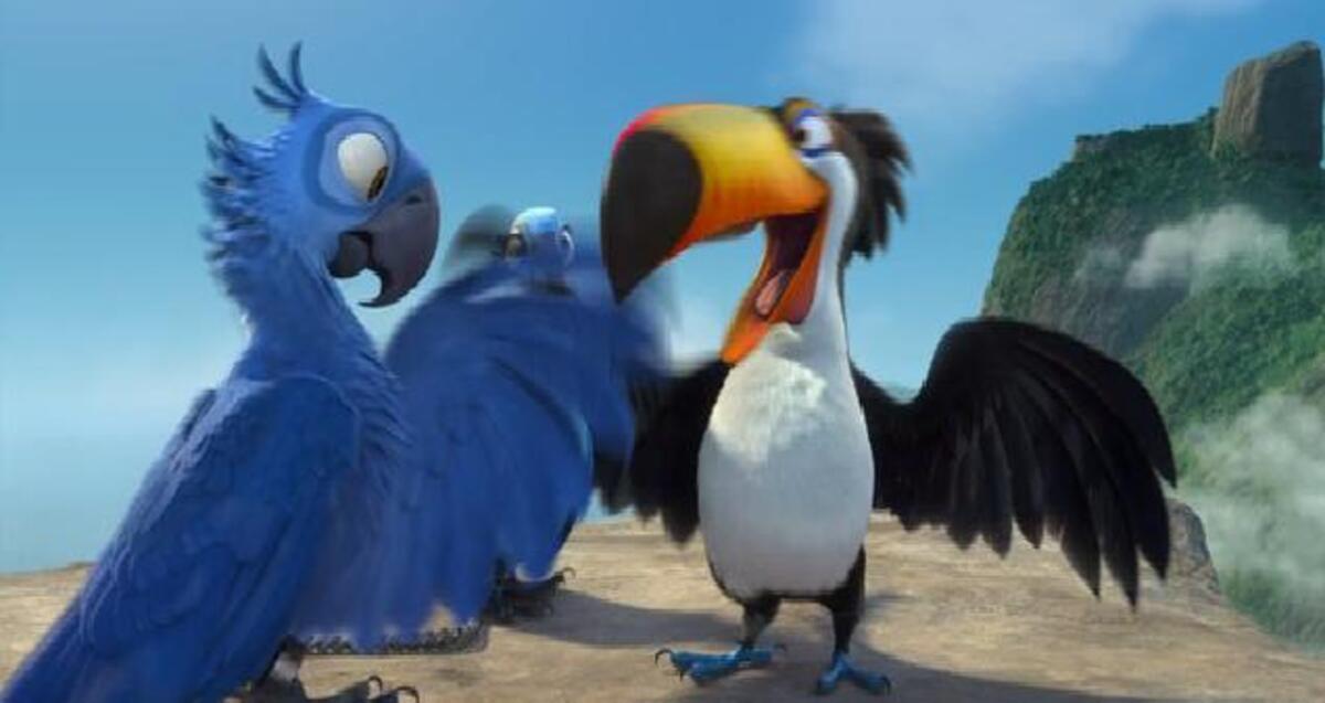 Трейлер к фильму «Рио 3D»