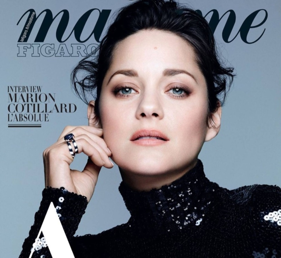 Марион Котийяр в журнале Madame Figaro. Октябрь 2015
