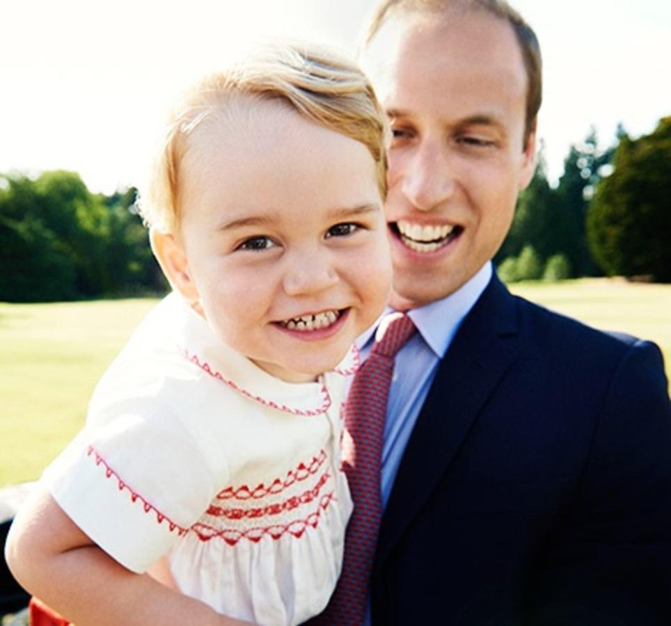 Марио Тестино снял портрет двухлетнего сына Кейт Миддлтон и принца Уильяма