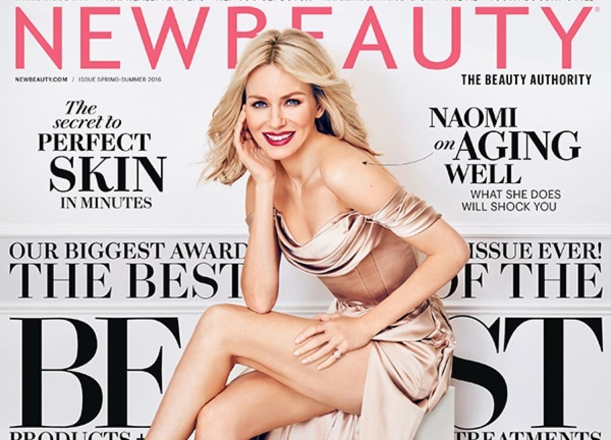 Наоми Уоттс на обложке журнала New Beauty: о возрасте и ботоксе