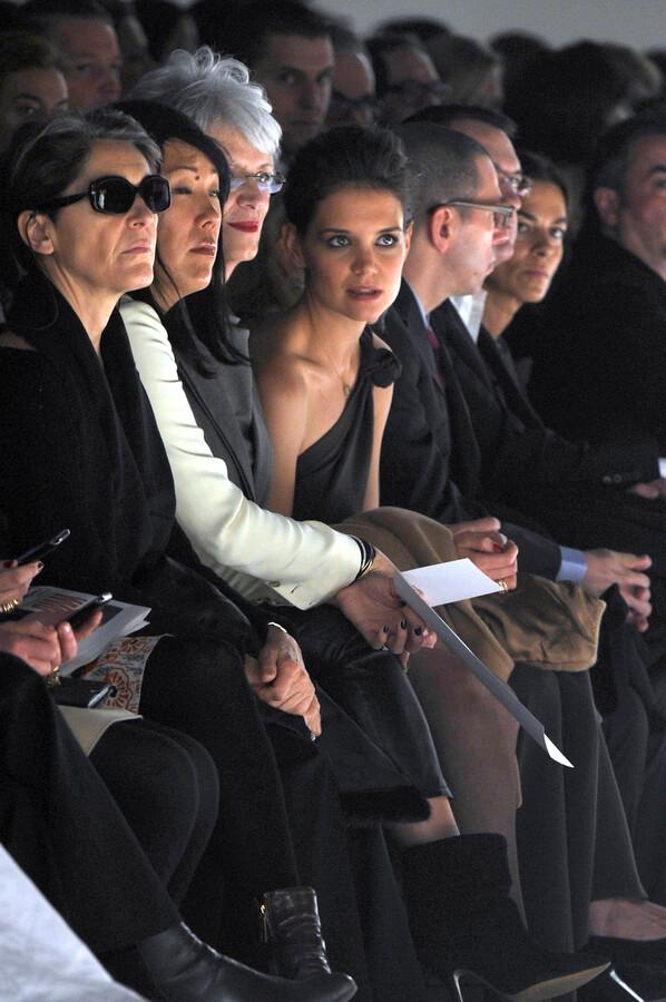 Кэти Холмс на Неделе Моды в Милане