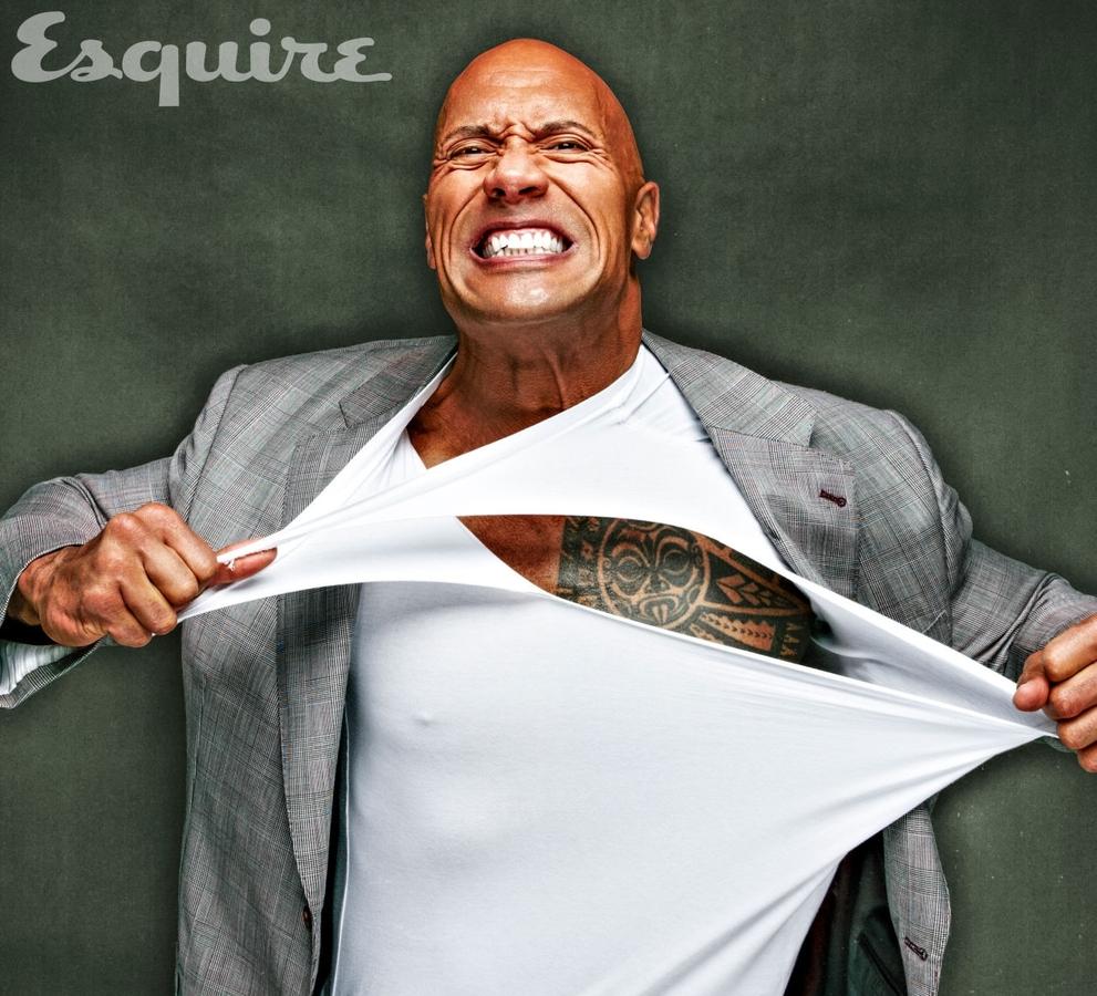 Дуэйн Джонсон в журнале Esquire. Август 2015